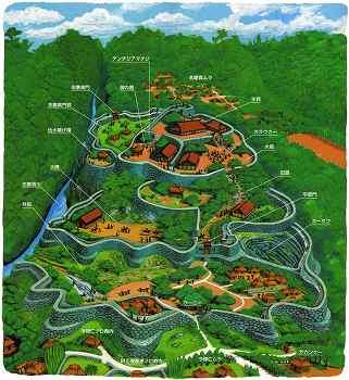 今帰仁城想像図
