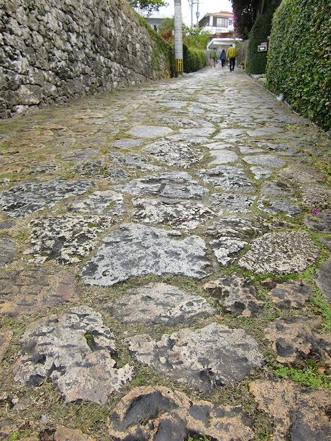 金城町の石段