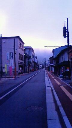 和田山の駅前通り