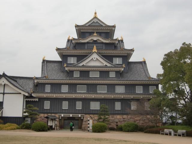 岡山城写真1