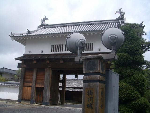 掛川城写真2
